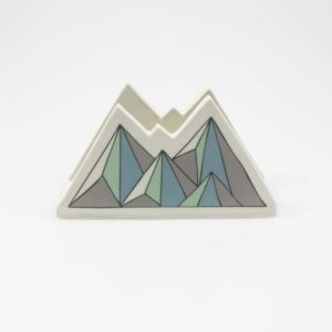 Low Poly Mountain Napkin Holder