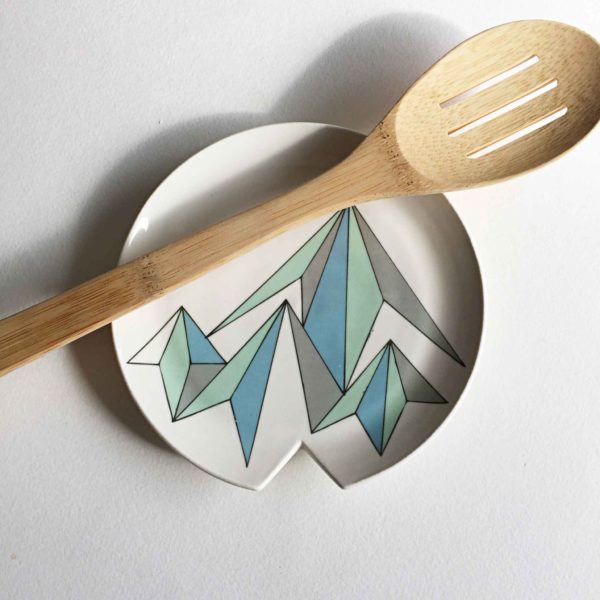 Low Poly Mountain Spoon Rest