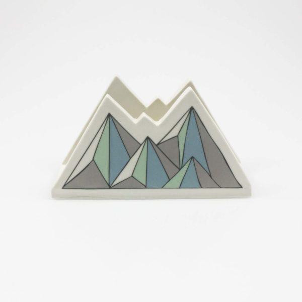 Low Poly Mountain Napkin Holder